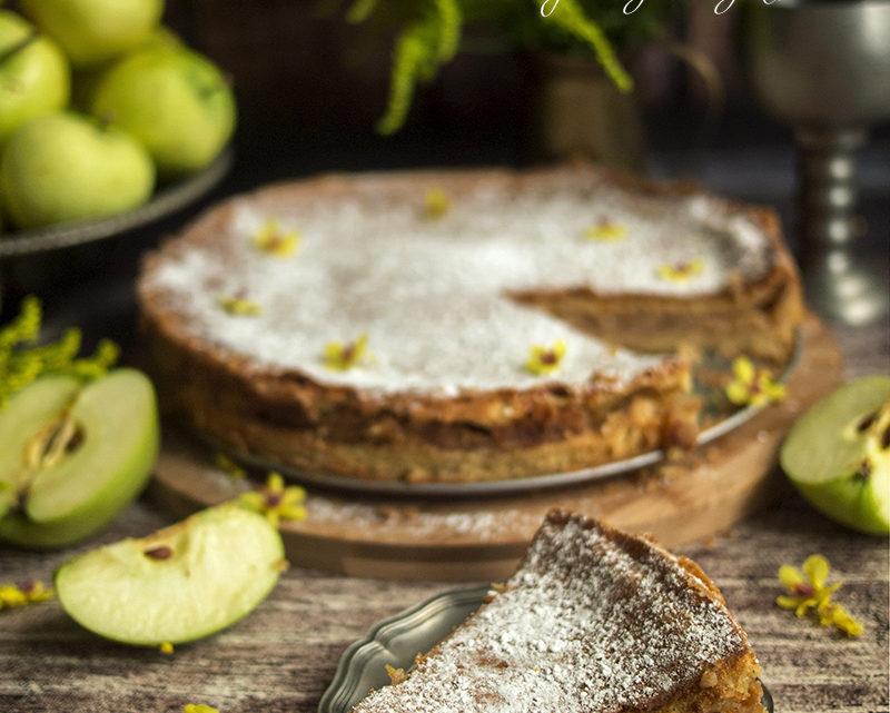 Jabłecznik szarotka bez mąki
